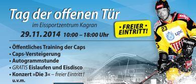 Tag der offenen Tür bei den UPC Vienna Capitals