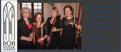 Abendmusik im Dom - Flauto dolce im Advent