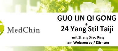 GUO LIN QI GONG und 24 Yang Stil Taiji mit Zhang Xiaoping