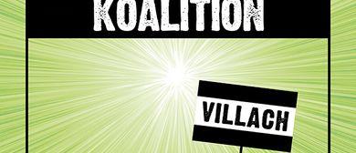 Kabarett Koalition mit Hosea Ratschiller, Christoph & Lollo