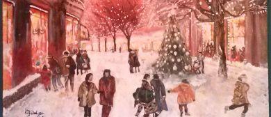 Kunstausstellung zur Weihnachtszeit