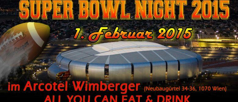 GIGA SPORT SUPER BOWL NIGHT 2015 im ARCOTEL WIMBERGER