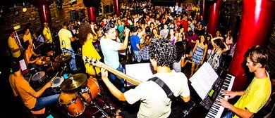 Corcovado Salsa Band (Gua, Mex, Kuba, Col, Peru, USA, Ö)