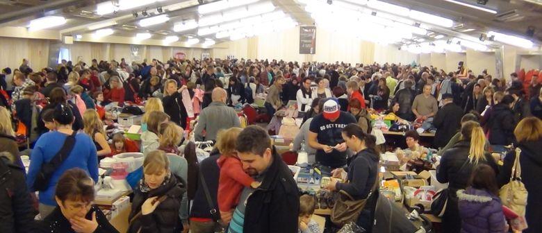 Riesiger Baby-Kinder-Flohmarkt 15.Feb.2015 Wien-Liesing
