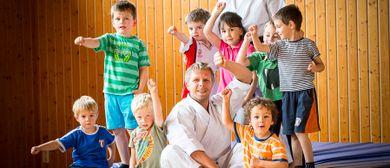 Karate Starke Kids Mini für Kinder von 4 - 6 Jahren