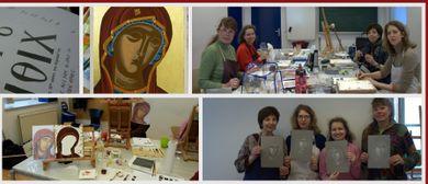 Himmlische Farben - Byzantinische Ikonenmalerei kennenlernen