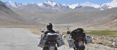 """Zentralasien Extrem """"Mit dem Roller zum Pamir"""""""