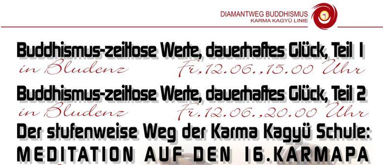 Vorarlberger Vortragsreihe zu Diamantweg-Buddhismus