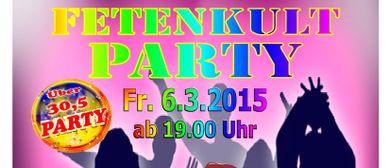Ü30,5 FETENKULT Party