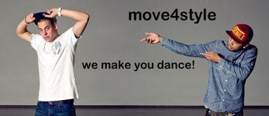 Hip Hop, Breakdance, Ragga dancehall