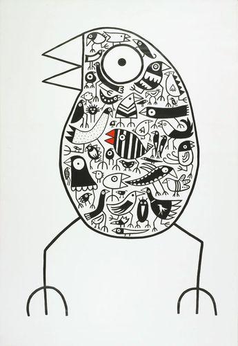 """Ausstellung """"birdman hans langner - privat ...  Ausstellung &qu..."""