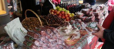 Mercato italiano in der Altstadt Bludenz