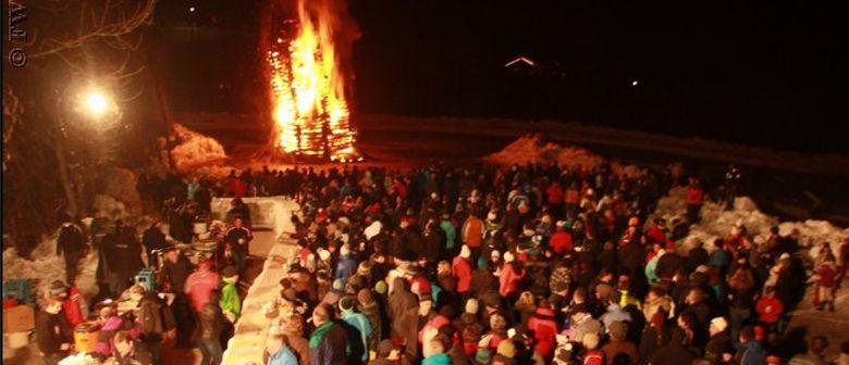 Funkenfest der Freiwilligen Feuerwehr Mellau