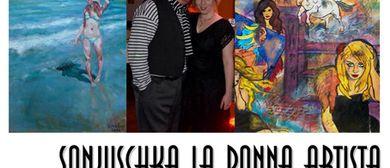 IMAGINE… Sonjuschka La Donna Artista, Gazmend FREITAG