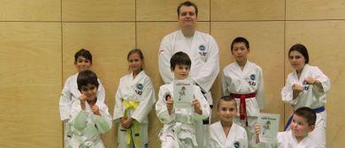 Taekwon-Do-Training bei TIGER DIVISION - ab 5 Jahren!