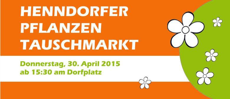 4. Henndorfer Pflanzerltauschmarkt