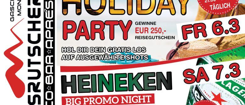 Fr : Holiday Night / Sa : Big Heineken Promo Party