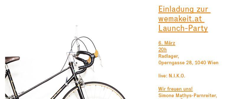 wemakeit: Launch-Party im Radlager