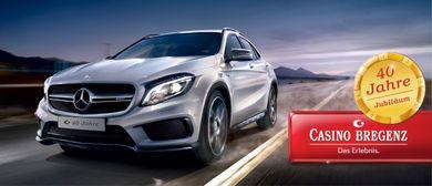 40 Jahre Jubiläum – Mercedes GLA gewinnen