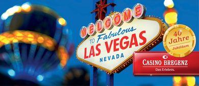 40 Jahre Jubiläum – Las Vegas Reise gewinnen