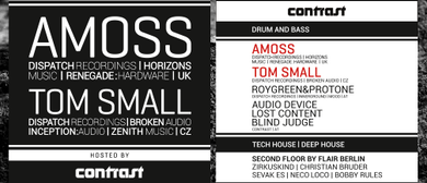 Contrast presents SECRET GEMS NIGHT w/ AMOSS & TOM SMALL