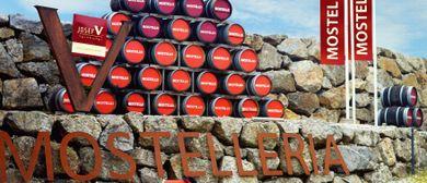 Dorflounge vor der Destillerie Farthofer, Öhling