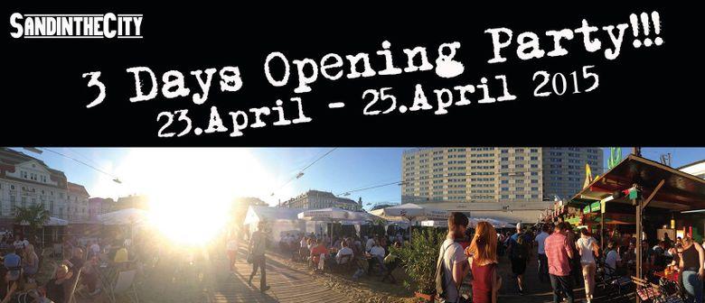 SandintheCity 2015 - 3 Days Opening Party!