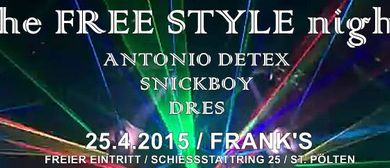 the FREE STYLE night