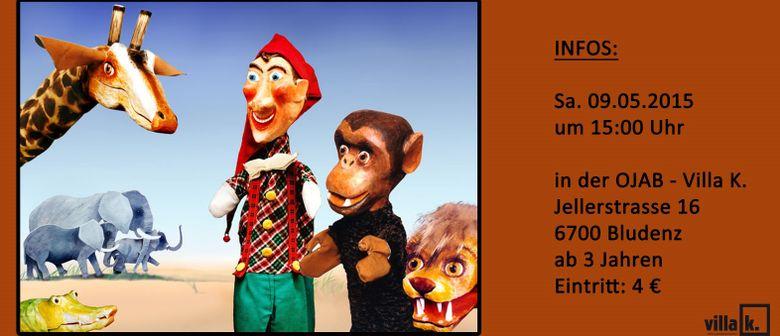 "Kindertheater ""Kasperl und Peter in Afrika"""