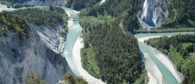 Rhein-Trilogie: Ganztägige Exkursion zum Flimser Bergsturz