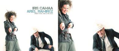 Iris Camaa live im Wiener KulturRaum Neruda