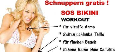 Gratis testen  SOS Bikini GYM -  Für Frauen ohne Traummaße