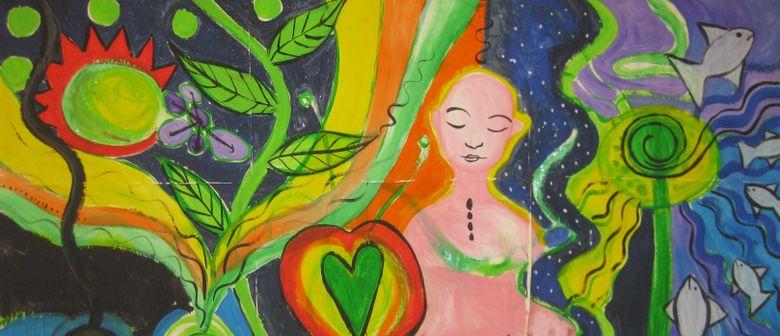 Weiberwirbel - die vorhersagbare Magie des intuitiven Malens