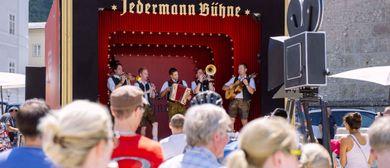 Jedermann Bühne in Baden/NÖ