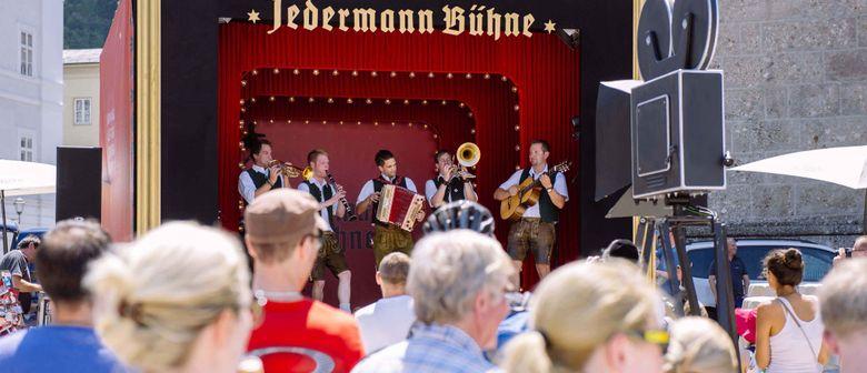 Jedermann Bühne in Podersdorf / Burgenland