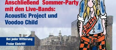 Sommerfest mit Live-Bands