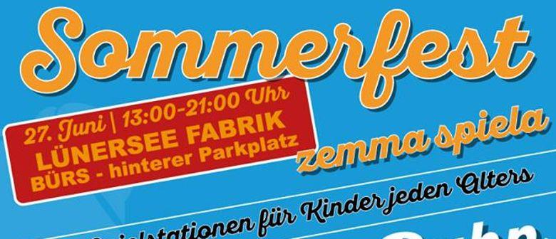 "Sommerfest ""zemma spiela"""