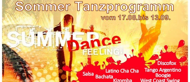 Sommer Tanzkurse vom 17.08.- 13.09.