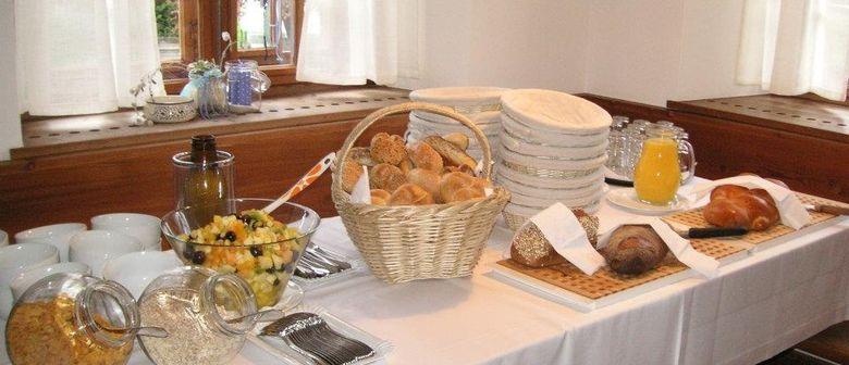 Frühstücksbuffet am Wochenende