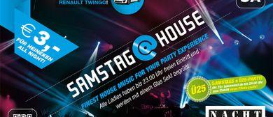 SAMSTAG@HOUSE