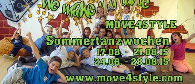 MOVE4STYLE - Sommertanzwochen