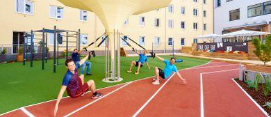 Erste Chill- & Workout-Area eröffnet mit Wiener Zeitgeist!