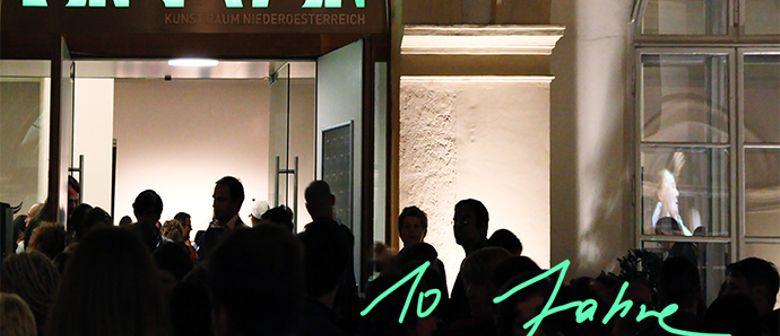 10 Jahre Kunstraum Niederoesterreich + H13 2015 Preis