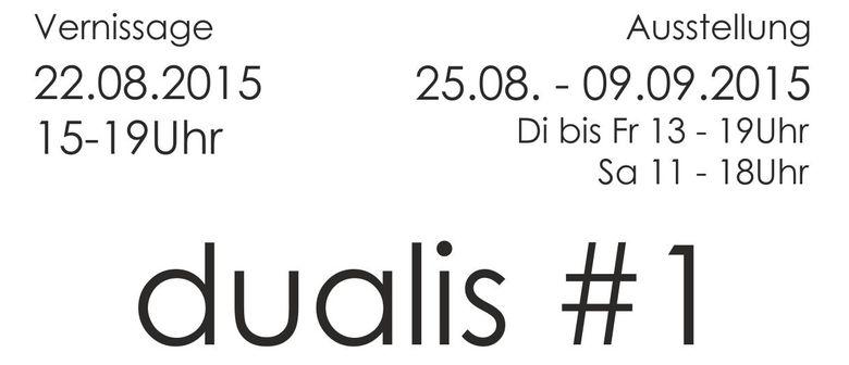 dualis #1 - ANNA SCHMEDDING / SILVESTER STÖGER