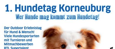 Premiere: 1. Hundetag Korneuburg 30.08.2015