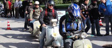 5th Austrian Vespa Rally in Klosterneuburg
