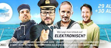 ELECTROBOOT 2015 - VIENNA SUMMERBREAK BOAT PARTY