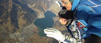 Tandem Fallschirmspringen Zell am See