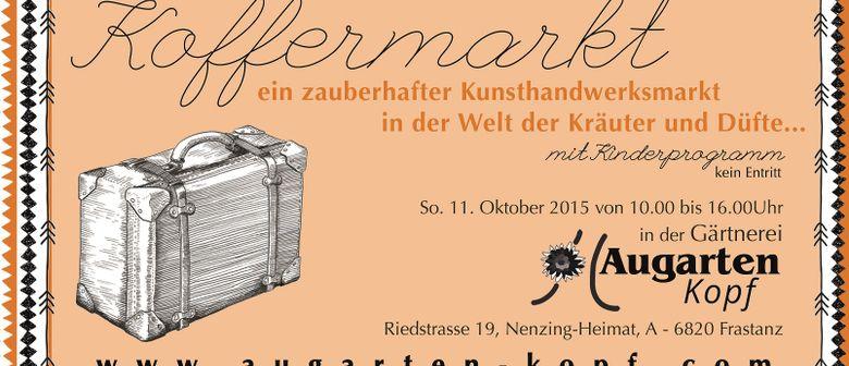 Koffermarkt im Augarten - Kunsthandwerksmarkt