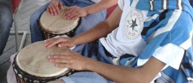 Art contact project - Trommel percussions